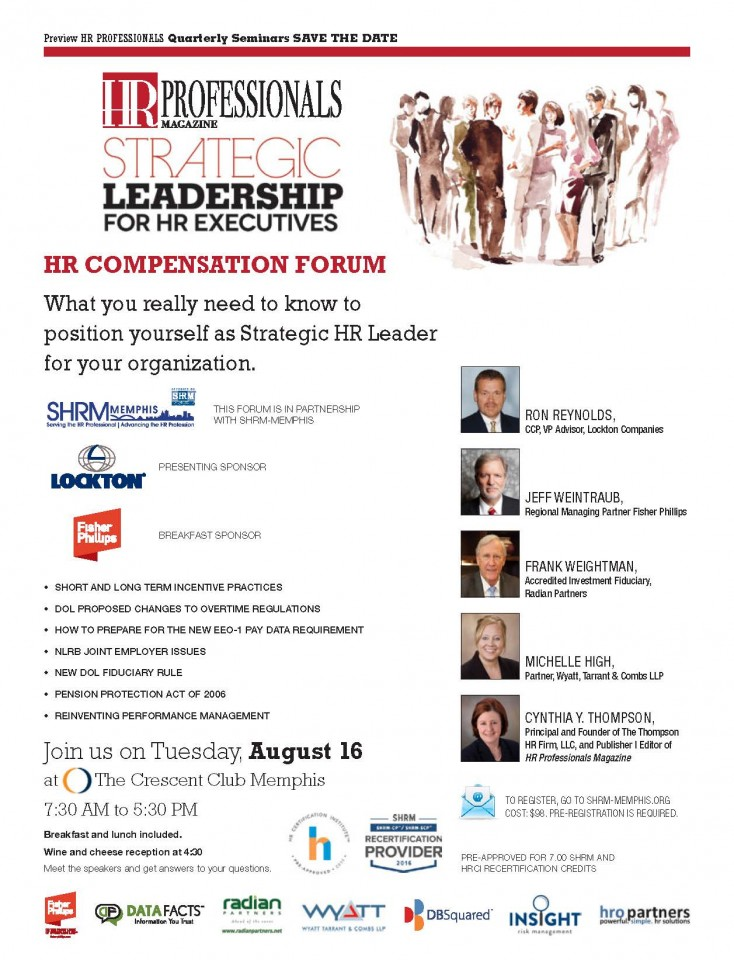 HR Compensation Forum